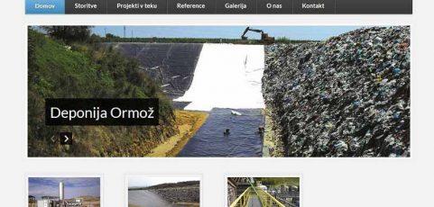 Spletna stran www.dume-trade.si