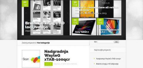 Spletna stran info.wayteq.si