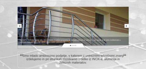 Spletna stran www.inox.ograje.biz