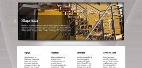 Spletna stran www.ograje.biz
