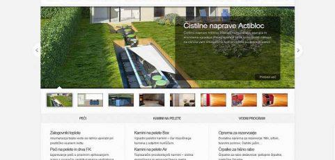 Spletna stran www.sojos.si